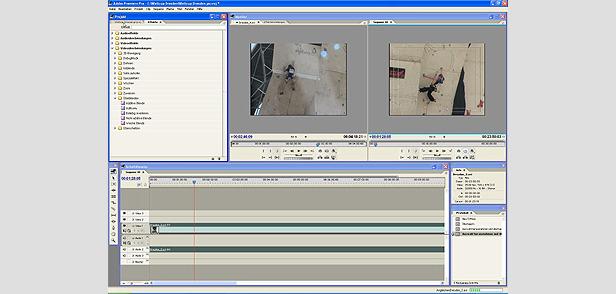 Das Editing: Szenen und Übergänge- ©XNX GmbH