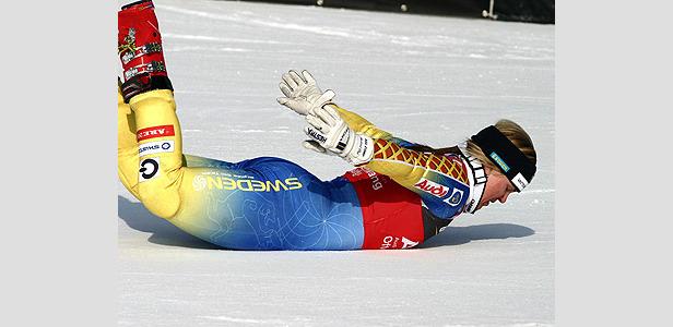 Pärson siegt bei WM auch in der Super-Kombination- ©G. Löffelholz / XnX GmbH