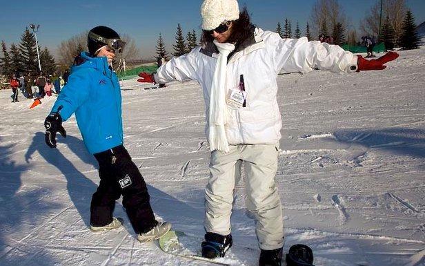 3 bonnes raisons de débuter le snowboard- ©Robin KuniskiYear: 2009