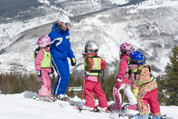 Vail's Ultimate Four Lesson. Photo Courtesy Dan Davis, Vail Resorts.