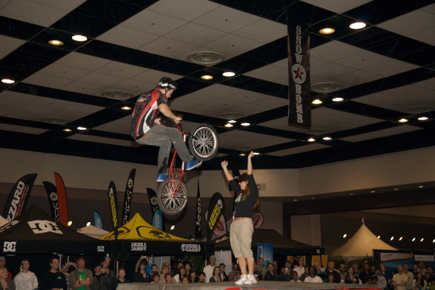 Over 20,000 feet of snow sports shopping and entertainment comes to the Santa Clara Convention Center in November. Photo Courtesy of SnowBomb.