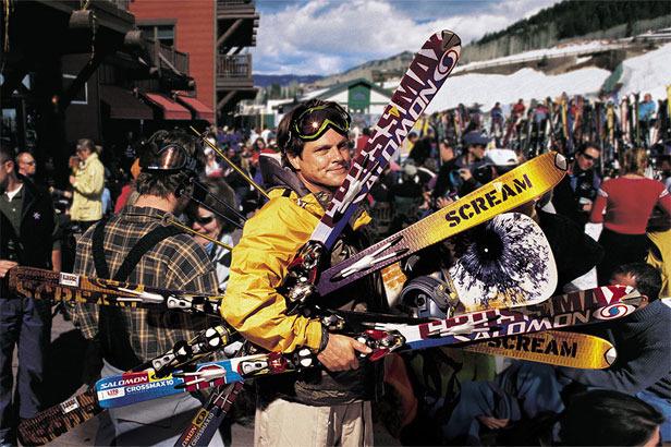Les magsins de sports recrutent des skiman