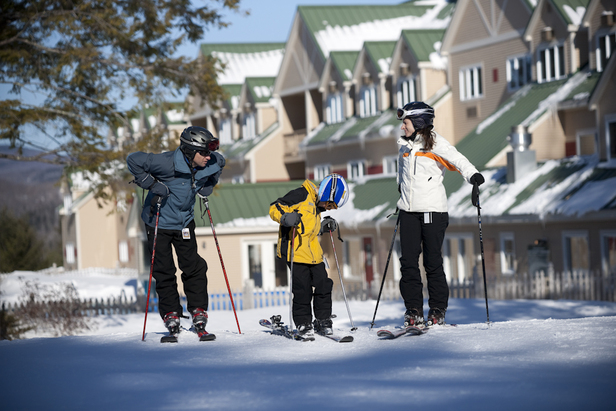 Slopeside lodging offers comfort and convenient access to the lifts. Photo Courtesy of Sunday River.