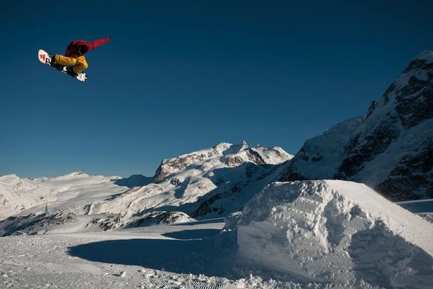 Zermatt - Gravity Park  - © Zermatt Tourisme