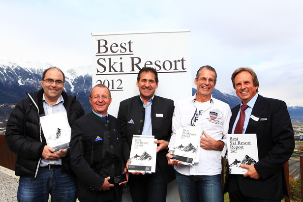 """Best Ski Resort"" Award 2012: Serfaus - Fiss - Ladis macht das Rennen ©pro.media"