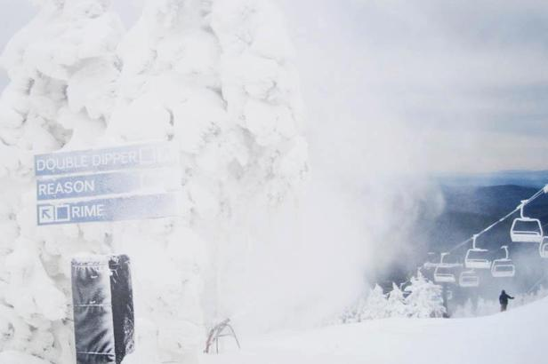Natural snow is in the forecast for Killington, which has been making snow for the past few weeks now.