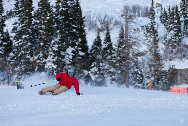Big Mountain Skiers and Riders Help Kick Off Snowbird's Winter Season- ©Mike Schirf Photography