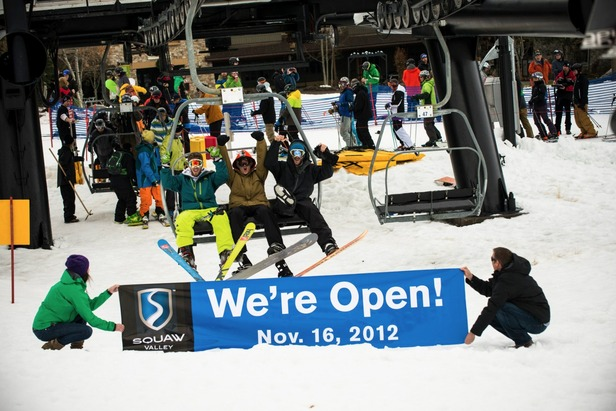 Photo Gallery: Weekend in Review Nov. 16-18, 2012- ©Nathan Kendall/Squaw Valley/Facebook