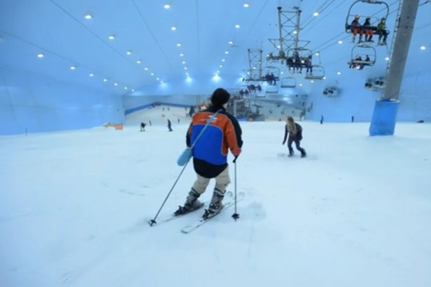 Video: Skidsemester i Dubai - A Skier's Journey- ©frame from Vimeo