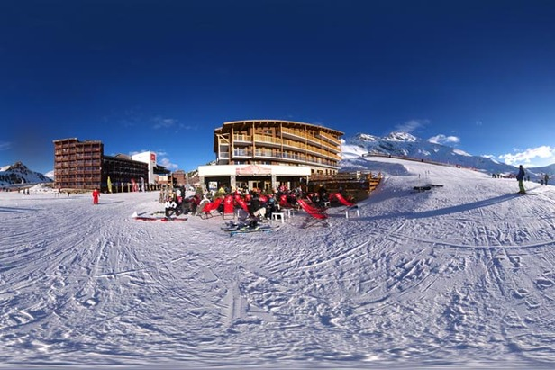 The highest ski resorts in EuropeChalet des Neiges