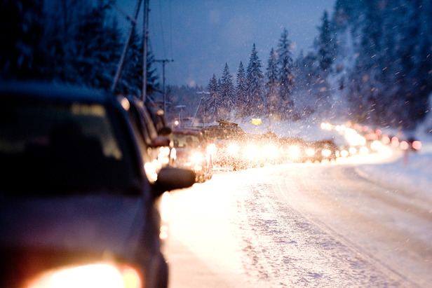 Stay safe driving to the Alps this winter