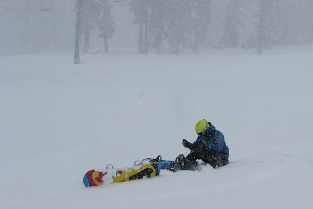 It is already snowing in Tahoe where several feet of snow is expected to fall over the weekend.