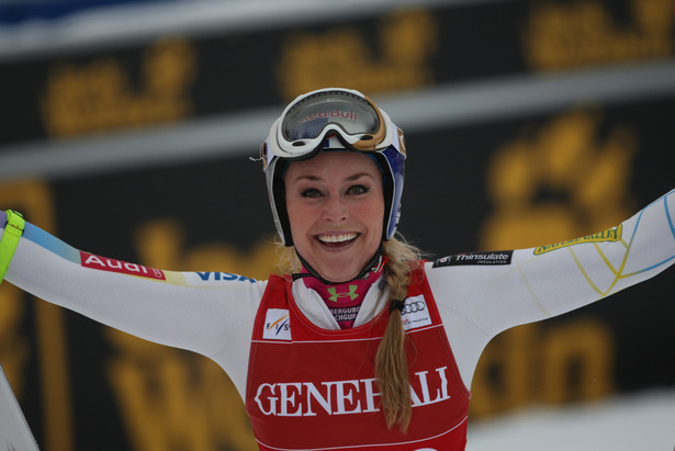 Lindsey Vonn, Lake Louise 2012