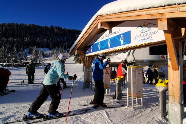 Im Skigebiet Spitzingsee  - © Norbert Eisele-Hein