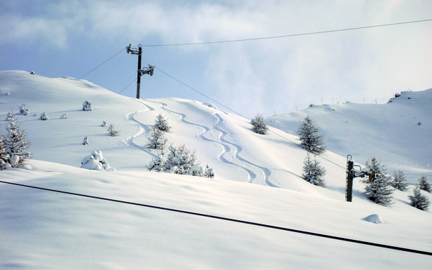 Un avant goût des excellentes conditions de ski proposées par les stations du Queyras