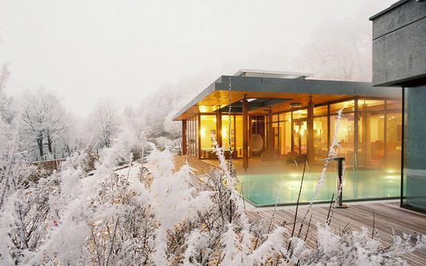 Les spas des neiges 100 % naturels- ©La Clairière