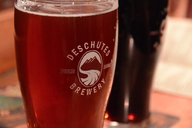 Deschutes Brewery beer in Bend. Photo by Ian Carvell/Flickr.