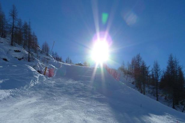 Monterosa Ski - Primo muro della nera Jolanda
