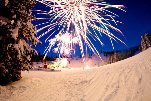 Fireworks at Brundage