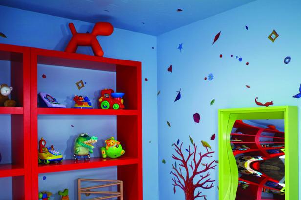 The tykes playroom at the Dancing Bear development in Aspen, Colorado.  - © Dancing Bear