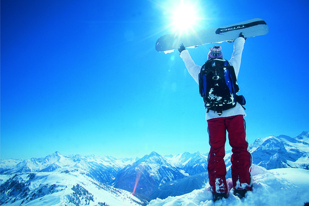 Best Late-Season Resorts to Ski in May ©Hintertux Tourist Office