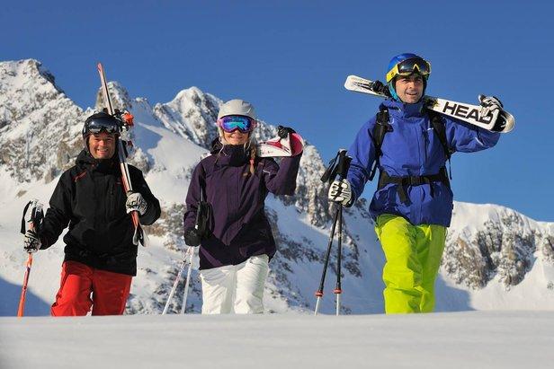 Skifahren an Ostern: Diese Skigebiete haben das richtige Angebot (und genug Schnee) ©Lech Zürs