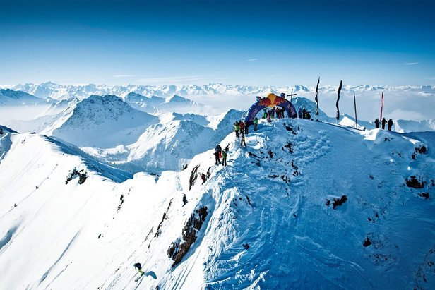 The UK's favourite ski resorts ©Freeride World Tour
