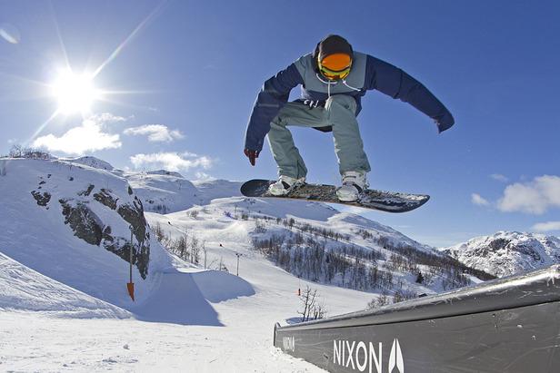 Skiurlaub in Norwegen: Die besten Parks für Freestyler  ©Kalle Hägglund