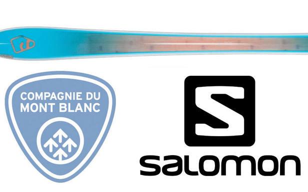 La Compagnie du Mont Blanc et Salomon partenaires au service de la montagne...
