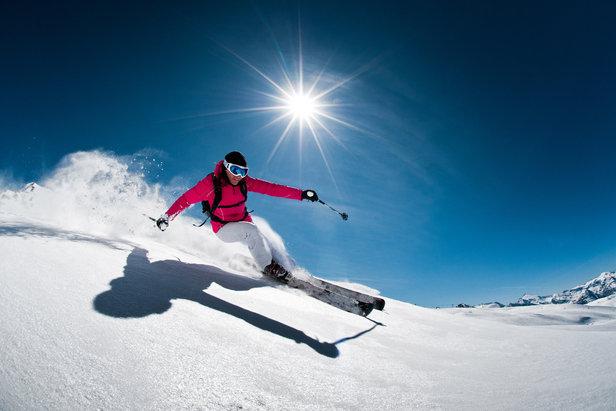 Un soleil généreux, une neige abondante... Vive le ski de printemps !