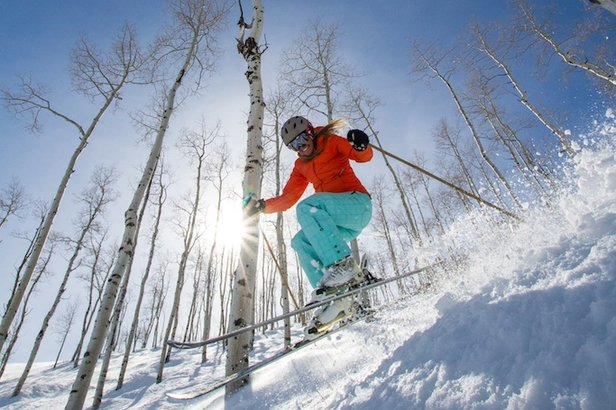 Best Ski Resorts for Spring Break Powder ©Liam Doran