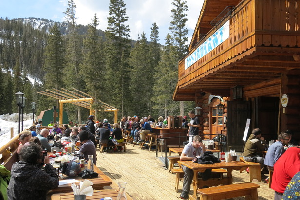 The Bavarian offers an authentic dining and apres experience at Taos Ski Valley.