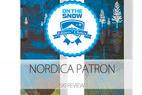 2015 Men's Powder Editors' Choice Ski: Nordica Patron - © Nordica