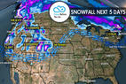 3.23 Snow Before You Go: 3 Storms & Heavy Snow Return to the West - © Meteorologist Chris Tomer