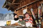Hornoštajerská zima  – radovánky na snehu, vystrájanie so srnkami, šantenie vo vetre ©Harry Schiffer