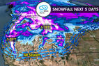 11.2 Snow Before You Go: 1-2 Feet for West - © Meteorologist Chris Tomer