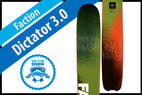 Faction Dictator 3.0: Men's 17/18 Big Mountain Editors' Choice Ski - © Faction