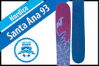 Nordica Santa Ana 93: Women's 17/18 All-Mountain Front Editors' Choice Ski - © Nordica