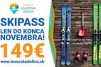Resort Levočská dolina: Ušetrite 33 % a kúpte si SKI sezónku v predpredaji - © Resort Levočská dolina