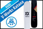 Völkl V-Werks Katana: Men's 17/18 Big Mountain Editors' Choice Ski - © Völkl