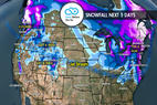 1.4 Snow Before You Go: Jet Stream Favors Both Coasts ©Meteorologist Chris Tomer