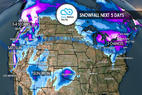 3-6 Feet to Wallop Parts of West: 1.3 Snow B4U Go - © Meteorologist Chris Tomer