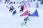 Ski Cross: Zwei spektakuläre Rennen zum Weltcup-Auftakt - © Christian Tschurtschenthaler