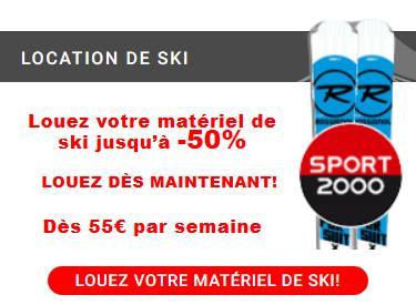 Louez son matériel de ski
