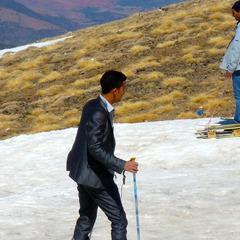 Skifahren in Marokko: Oukaimden, Hoher Atlas, Marokko - © Christoph Schrahe