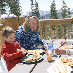 Keystone Colorado family dining