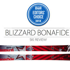 2014 Men's All-Mountain Ski Editors' Choice: Blizzard Bonafide