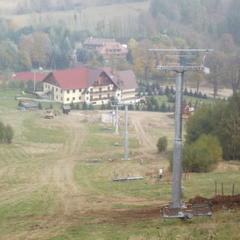Kamienica, Poľsko - výstavba vleku 2013 - © Ośrodek narciarski Kamienica