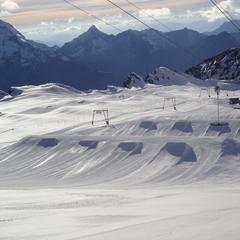 Lodowiec Les 2 Alpes, 26.10.2013 - © Les 2 Alpes