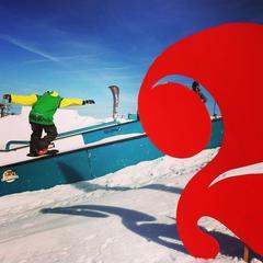 Les meilleures stations pour le snowboard - ©Les 2 Alpes
